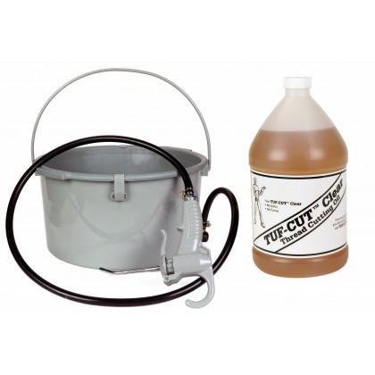 Toledo Pipe 418 Oiler 10883 & 1 Gallon of Tuf-Cut™ Clear Oil fits RIDGID® 300 535 700 12R 690 Pipe Threading Machine