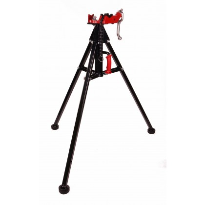 Toledo Pipe 425 Stand Portable Tripod Chain Vise works with RIDGID® 12R 700 Pipe Threader