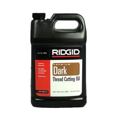 RIDGID® 70830 Dark Pipe Threading / Cutting Oil - 1 Gallon