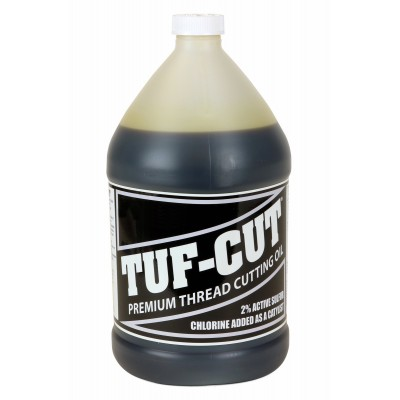 Tuf-Cut™ Dark Pipe Thread Cutting Oil - 1 Gallon for use with RIDGID® 70830 300 535 1822 1224 700 690 600 Threading Machines