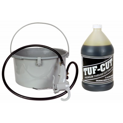 Toledo Pipe 418 Oiler 10883 & 1 Gallon of Tuf-Cut™ Dark Oil fits RIDGID® 300 535 700 12R 690 Pipe Threading Machine